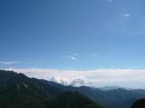 瑞牆山山頂(富士山方面)