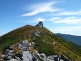 金峰山山頂付近の紅葉