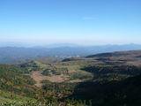 国道最高地点からの眺め