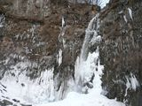 水量が少ない不動大滝