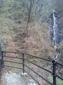不動滝の展望台