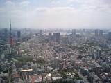 六本木ヒルズ展望台からの景色