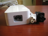 Mac miniのACアダプターの形状