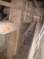 水をくみ上げるための水車部分