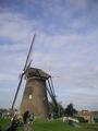 見学できる風車の全体像