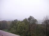 雀の丘より霧のモスクワ川