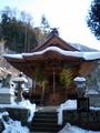 雪と川原湯温泉神社