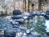 忠治館の露天風呂