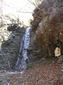 恵滝も水量不足