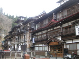 銀山温泉の旅館