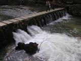 銀山温泉を流れる川