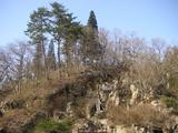 銀鉱洞のある堅刈山
