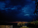 Scheveningenの夜景