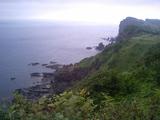 積丹出岬から女郎子岩方面