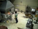 北一硝子の工場