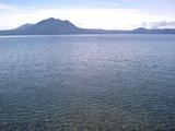 支笏湖の水面